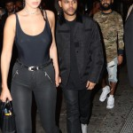 The Weeknd and Bella Hadid spotted holding hands walking to a nightclub