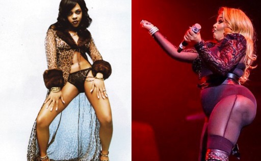 Lil Kim has a new body and it's shocking