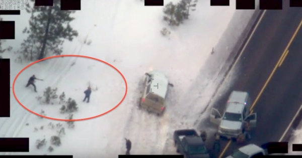 Leaked Video of Oregon Militia Deadly Shootout