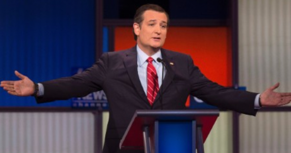 With Trump no show, Ted Cruz clash with Fox moderator Chris Wallace