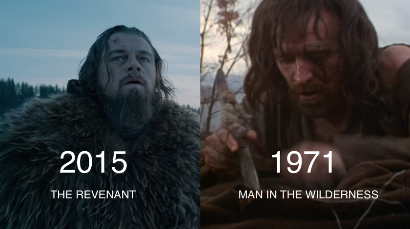 The Revenant vs Man In The Wilderness