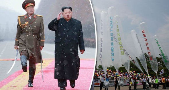 North Korea sent Balloons to South Korea carrying something that Shocked residents.