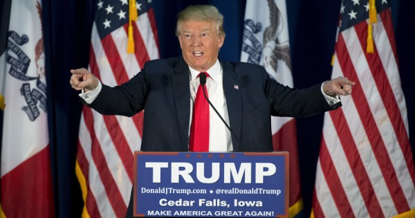 Breaking News: Donald Trump wins IOWA and beats Ted Cruz!
