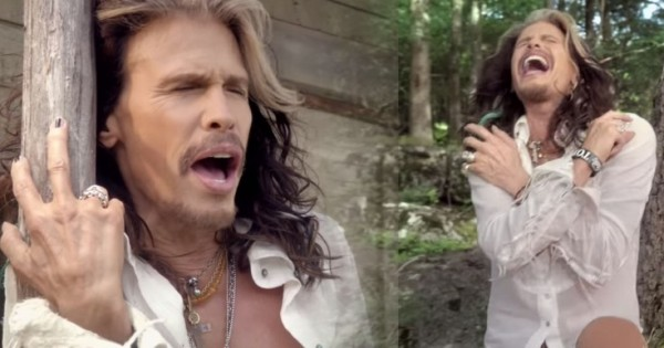 "Steven Tyler Gone ""Country"" on a New Song. Is he mad?"