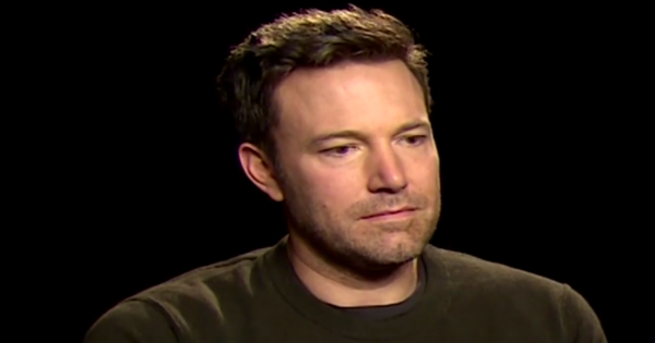 Watch Ben Affleck's Sad Reaction to hearing Batman VS Superman Reviews