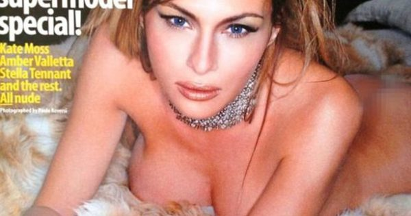Melania Trump posing FULLY NAKED in steamy photoshoot